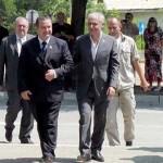 Премијер Србије Ивица Дачић и директор РТБ Бор, Благоје Спасковски