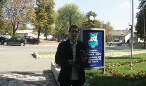 Благоје Спасковски примио твитераша Дарка Велојића