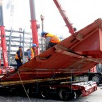 Градитељи нове топионице напредују и по зими