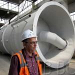 Басин и Спасковски посетили фабрику фиберглас-опреме