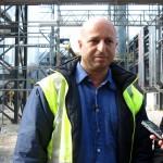 У новој фабрици сумпорне киселине запалио се део цеви од фибергласа