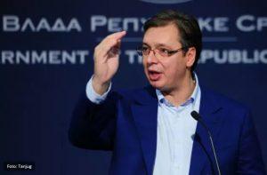 Председник Србије Александар Вучић у посети Мајданпеку