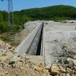 У РБМ-у настављени радови на новој траси цевовода за измештање пумпне станице