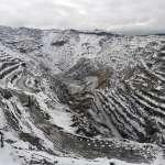 На површинском копу РБМ-а први снег без већег утицаја на производњу