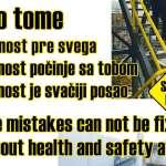 Јачање свести о важности безбедности и здравља на раду